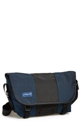 Men's Timbuk2 Medium Messenger Bag Blue Dusk Blue Black