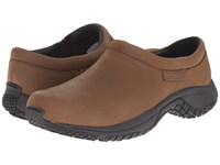 Merrell Encore Moc Pro Grip Nubuck Brown Men's Moccasin Shoes