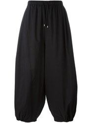 Unconditional Layered Cocoon Pants Black