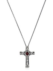 Manuel Bozzi Cross Pendent Necklace