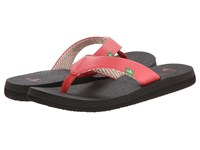 Sanuk Yoga Mat Watermelon Women's Sandals Pink