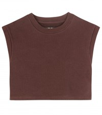 Yeezy Cotton Crop Top Season 1 Brown