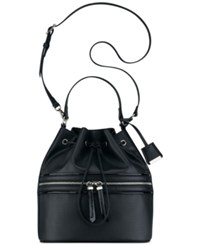 Nine West Hot Mesh Bucket Bag Black
