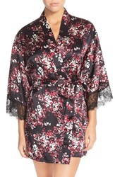 Women's Nordstrom Short Silk Robe