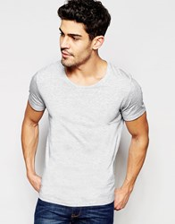 Selected Homme T Shirt Grey
