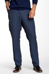 John Varvatos Slim Fit Pocket Pant Blue