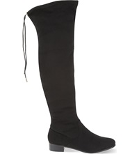 Carvela Supper Over The Knee Boots Black