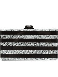 Edie Parker 'Jean' Box Clutch Black