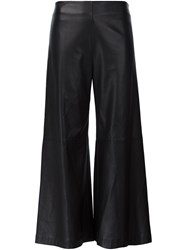 Adam By Adam Lippes Wide Leg Trousers Black
