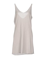 Terre Alte Short Dresses Light Grey