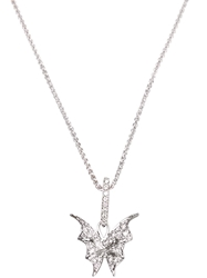 Stephen Webster 'Fly By Night' Batmoth Necklace Metallic
