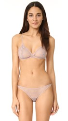 Only Hearts Club Coucou Lola Bralette Grey Pearl