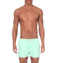 Oiler And Boiler Tuckernuck Shortie Swim Shorts Mint Green