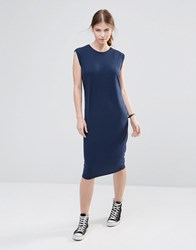 Noisy May Champ Jersey Dress Black Iris