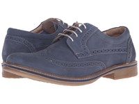 Lotus Salisbury Blue Nubuck Men's Lace Up Cap Toe Shoes