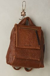 Anthropologie Lory Backpack Cognac
