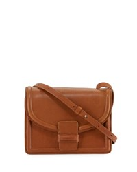 Dries Van Noten Leather Mini Shoulder Bag Cognac