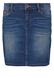 Morgan Denim Skirt Jean Stone Stone Blue
