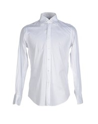 Bagutta Shirts Shirts Men White