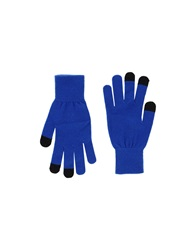 Marc By Marc Jacobs Gloves Blue
