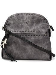 Henry Beguelin Stitched Details Shoulder Bag Grey