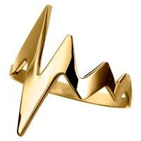 Delphine Leymarie Amour Heartbeat Ring 18K Yellow Gold