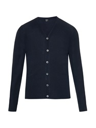 Jil Sander Cotton And Silk Blend Knit Cardigan