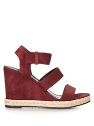 Balenciaga Suede Wedges Sandals