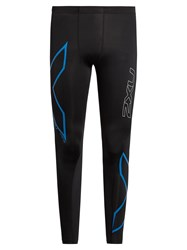 2Xu Hyoptik Compression Performance Leggings Black Multi
