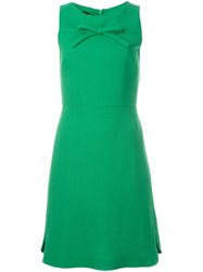 Boutique Moschino Front Bow Design Dress Green