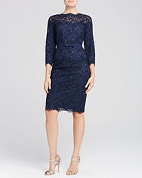 Tadashi Shoji Three Quarter Sleeve Lace Dress