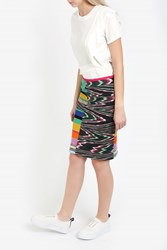 Missoni Patchwork Space Dye Skirt Multi