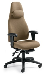 Global Obusforme Office Chair 4470 Ergonomic Office Chairs