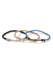 Topman Multi Crystal Beaded Bracelet Pack
