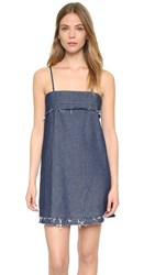 Veda Dime Dress Raw Denim