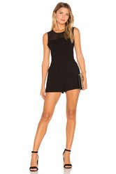 Bcbgeneration Chiffon Yoke Romper Black