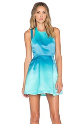 Lovers Friends X Revolve Mega Fit And Flare Dress Blue