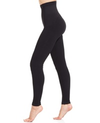 Star Power By Spanx Tout And About High Waisted Shaping Leggings Backdrop Black