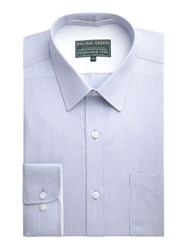 Racing Green Jenson End On End Formal Shirt Grey