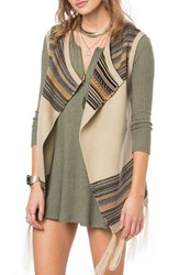 O'neill Women's Pfeiffer Stripe Knit Vest
