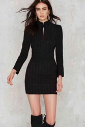 Nasty Gal Line And Dot Mon Amie Striped Dress