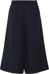 Mother Of Pearl Minos Textured Wool Wide Leg Pants Blue