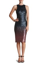 Dress The Population Women's 'Shawn' Ombre Sequin Midi