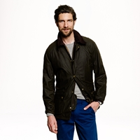 J.Crew Barbour Sylkoil Ashby Jacket