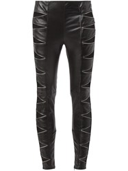 Saint Laurent Cut Out Leggings