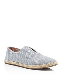 Toms Palmera Chambray Espadrille Oxfords