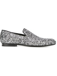 Jimmy Choo 'Sloane' Slippers Metallic