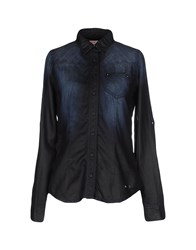 Met Denim Denim Shirts Women Blue