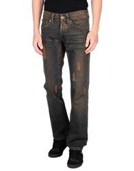 John Richmond Denim Denim Trousers Men Dark Brown