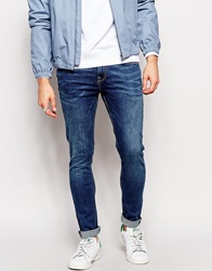 New Look Mid Blue Super Skinny Jeans
